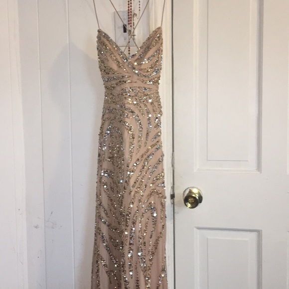 Dresses Champagne Color Prom Dress Poshmark